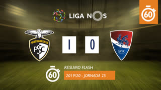 Liga NOS (25ªJ): Resumo Flash Portimonense 1-0 Gil Vicente FC