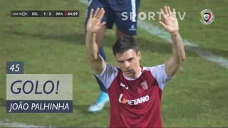 GOLO! SC Braga, João Palhinha aos 45', Belenenses SAD 1-4 SC Braga