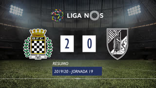 Liga NOS (19ªJ): Resumo Boavista FC 2-0 Vitória SC