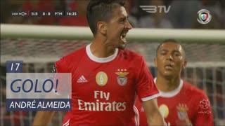 GOLO! SL Benfica, André Almeida aos 17', SL Benfica 1-0 Portimonense