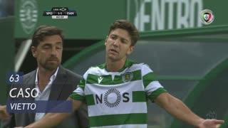 Sporting CP, Caso, Vietto aos 63'