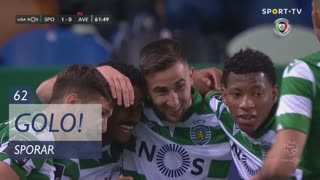 GOLO! Sporting CP, Sporar aos 62', Sporting CP 1-0 CD Aves