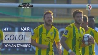GOLO! CD Tondela, Yohan Tavares aos 41', CD Tondela 1-2 Vitória SC
