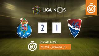 Liga NOS (18ªJ): Resumo Flash FC Porto 2-1 Gil Vicente FC