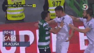 Sporting CP, Caso, M. Acuña aos 90'+6'