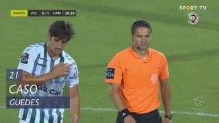Vitória FC, Caso, Guedes aos 21'