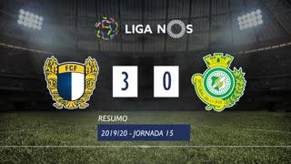 I Liga (15ªJ): Resumo FC Famalicão 3-0 Vitória FC