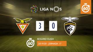 Liga NOS (17ªJ): Resumo Flash CD Aves 3-0 Portimonense