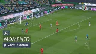 Sporting CP, Jogada, Jovane Cabral aos 36'