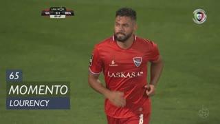 Gil Vicente FC, Jogada, Lourency aos 65'