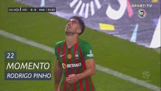 Marítimo M., Jogada, Rodrigo Pinho aos 22'