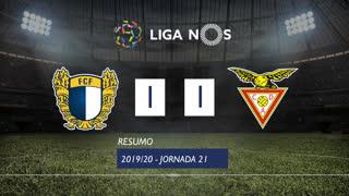 Liga NOS (21ªJ): Resumo FC Famalicão 1-1 CD Aves