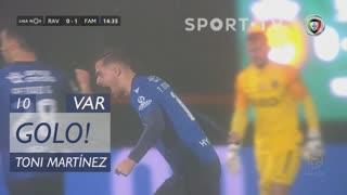 GOLO! FC Famalicão, Toni Martínez aos 10', Rio Ave FC 0-1 FC Famalicão
