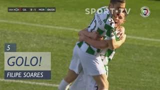 GOLO! Moreirense FC, Filipe Soares aos 5', Gil Vicente FC 0-1 Moreirense FC