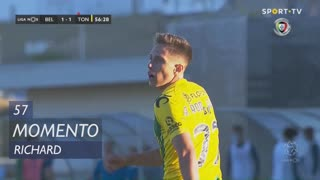 CD Tondela, Jogada, Richard aos 57'