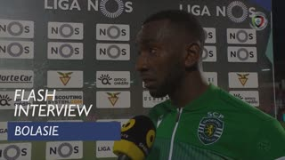 Liga (7ª): Flash Interview Bolasie