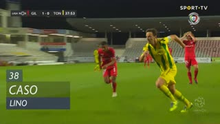 Gil Vicente FC, Caso, Lino aos 38'