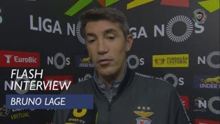 Liga (8ª): Flash Interview Bruno Lage