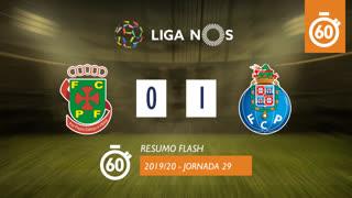 Liga NOS (29ªJ): Resumo Flash FC P.Ferreira 0-1 FC Porto