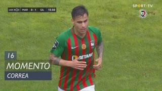 Marítimo M., Jogada, Correa aos 16'