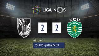 Liga NOS (25ªJ): Resumo Vitória SC 2-2 Sporting CP
