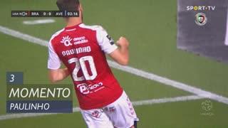 SC Braga, Jogada, Paulinho aos 3'