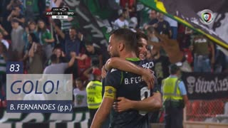 GOLO! Sporting CP, Bruno Fernandes aos 83', CD Aves 0-1 Sporting CP