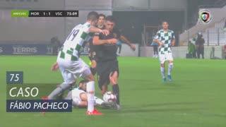 Moreirense FC, Caso, Fábio Pacheco aos 75'