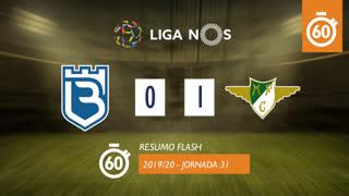 Liga NOS (31ªJ): Resumo Flash Belenenses SAD 0-1 Moreirense FC