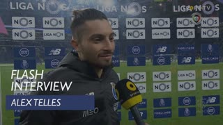 Liga (22ª): Flash Interview Alex Telles
