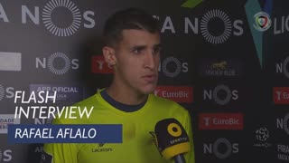 Liga (10ª): Flash Interview Rafael Aflalo