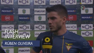 Liga (24ª): Flash Interview Rúben Oliveira