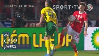 SL Benfica, Caso, J. Weigl aos 50'