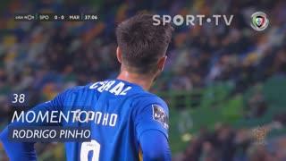 Marítimo M., Jogada, Rodrigo Pinho aos 38'
