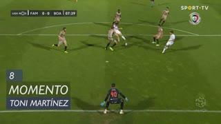 FC Famalicão, Jogada, Toni Martínez aos 8'