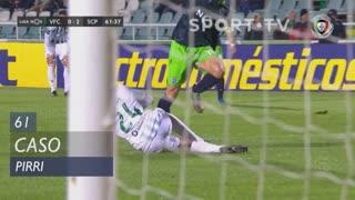 Vitória FC, Caso, Pirri aos 61'