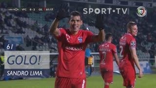 GOLO! Gil Vicente FC, Sandro Lima aos 61', Vitória FC 0-2 Gil Vicente FC