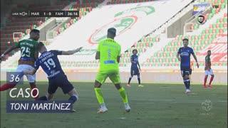 FC Famalicão, Caso, Toni Martínez aos 36'