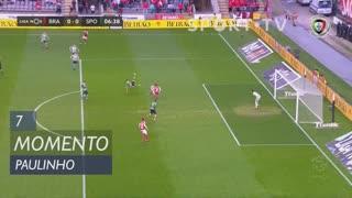 SC Braga, Jogada, Paulinho aos 7'