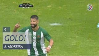 GOLO! Rio Ave FC, Bruno Moreira aos 9', Belenenses 0-1 Rio Ave FC