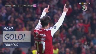 GOLO! SC Braga, Trincão aos 90'+7', SC Braga 3-1 Vitória FC