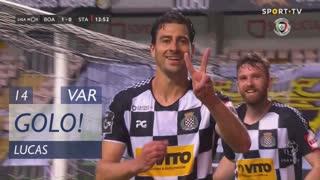 GOLO! Boavista FC, Lucas aos 14', Boavista FC 1-0 Santa Clara
