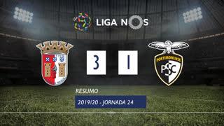 Liga NOS (24ªJ): Resumo SC Braga 3-1 Portimonense