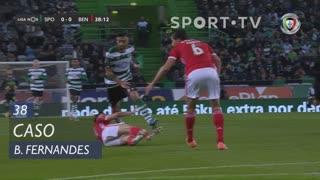Sporting CP, Caso, Bruno Fernandes aos 38'