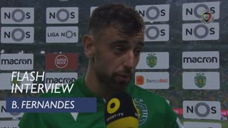 Liga (4ª): Flash Interview Bruno Fernandes