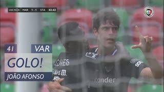 GOLO! Santa Clara, João Afonso aos 41', Marítimo M. 1-1 Santa Clara
