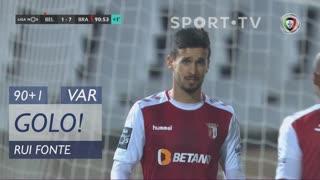 GOLO! SC Braga, Rui Fonte aos 90'+1', Belenenses SAD 1-7 SC Braga