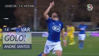 GOLO! Belenenses SAD, André Santos aos 14', Belenenses SAD 1-0 FC Porto