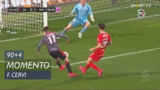 SL Benfica, Jogada, F. Cervi aos 90'+4'