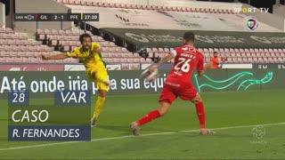 Gil Vicente FC, Caso, Rúben Fernandes aos 28'